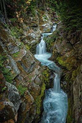 Photograph - Upper Christine Falls by Belinda Greb