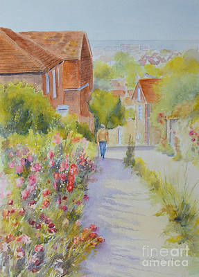 Painting - Upper Church Hill 2015 Hythe by Beatrice Cloake