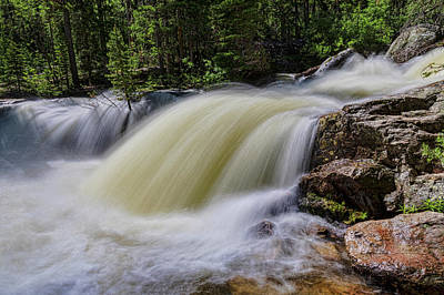 Photograph - Upper Copeland Falls by James BO Insogna