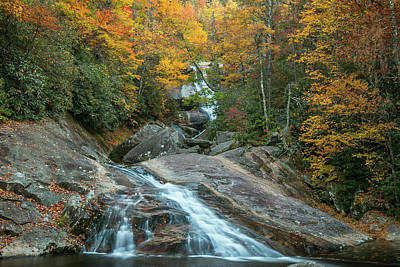 Upper Creek Autumn Paradise Art Print