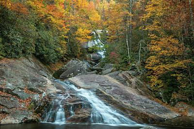 Photograph - Upper Creek Autumn Paradise by Chris Berrier