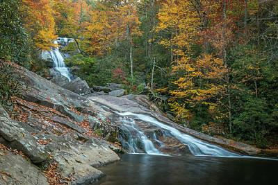 Photograph - Upper Creek Autumn Splendor by Chris Berrier