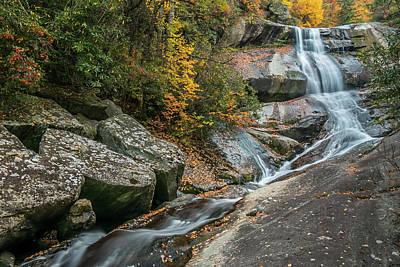 Photograph - Upper Creek Falls by Chris Berrier