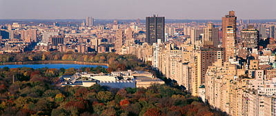 The Haven Photograph - Upper East Side Central Park New York by Panoramic Images
