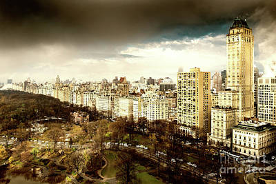Photograph - Upper East Side Of New York In Spring by Miles Whittingham