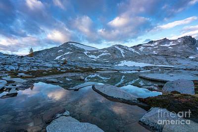 Photograph - Upper Enchantments Calm Cloudscape by Mike Reid