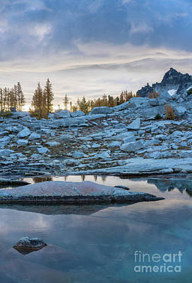 Photograph - Upper Enchantments Calm Pools by Mike Reid