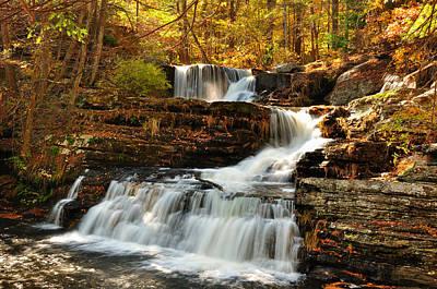 Upper Delaware River Photograph - Upper Falls At Delaware Water Gap by Jay Mudaliar
