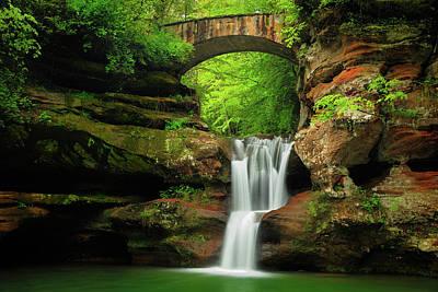 Photograph - Upper  Falls  by Emmanuel Panagiotakis