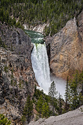 Photograph - Upper Falls by John Gilbert