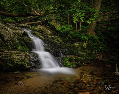 Photograph - Upper Falls On Doyle River by Ronald Santini