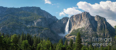 Photograph - Upper Falls Panorama by Michael Ver Sprill