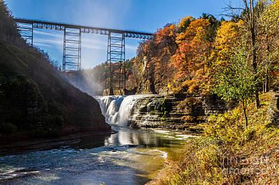 Photograph - Upper Falls by William Norton