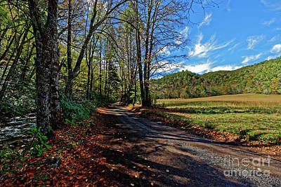 Photograph - Upper Field At Cataloochee Valley by Paul Mashburn