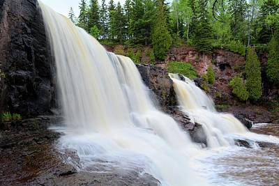 Photograph - Upper Gooseberry Falls by Bonfire Photography
