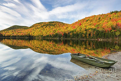 Photograph - Upper Hall Pond - Sandwich New Hampshire by Erin Paul Donovan
