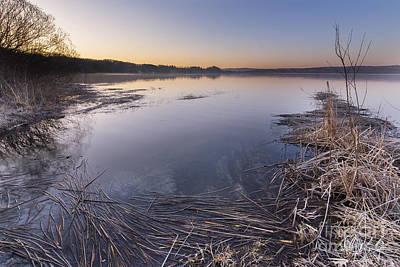 Herring Photograph - Upper Herring Lake Morning by Twenty Two North Photography