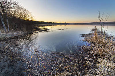 Upper Lake Photograph - Upper Herring Lake Spring Morning by Twenty Two North Photography