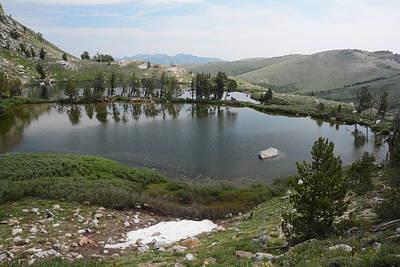 Photograph - Upper Hidden Lake by Jenessa Rahn