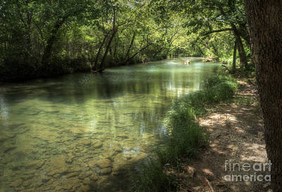Photograph - Upper Honey Creek by Fred Lassmann