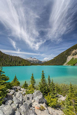 Photograph - Upper Joffre Lake B.c Canada by Pierre Leclerc Photography