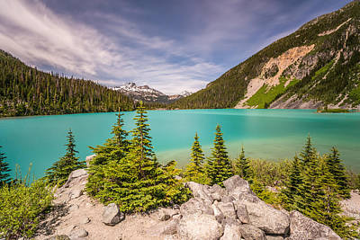 Photograph - Upper Joffre Lake by Pierre Leclerc Photography