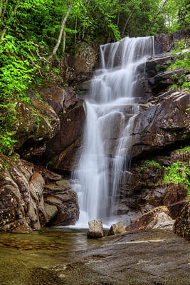 Photograph - Upper Kirby Falls Davis Brook by Chris Whiton