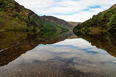 Photograph - Upper Lake Glendalough by Martina Fagan