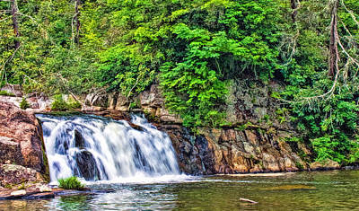 Photograph - Upper Linville Falls by Ginger Wakem