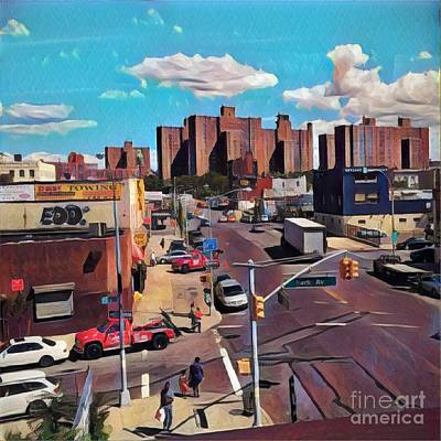 Photograph - Upper Manhattan - Summer by Miriam Danar