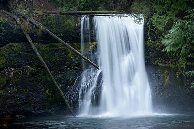 Photograph - Upper North Falls by Robert Potts