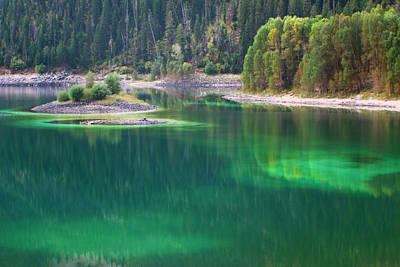 Photograph - Upper Palisades Lake by Jon Emery