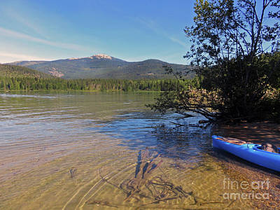 Photograph - Upper Priest Lake Idaho by Cindy Murphy - NightVisions