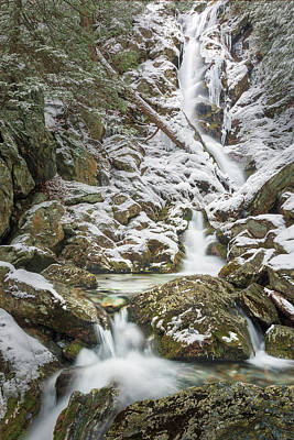 Photograph - Upper Race Brook Falls 2018 by Bill Wakeley