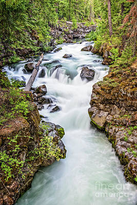 Photograph - Upper Rogue River by Charles Dobbs
