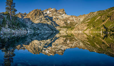 Upper Sardine Lake Panorama Art Print