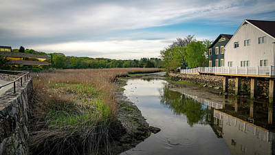 Photograph - Upper Saugatuck River - Westport By Mike-hope by Michael Hope