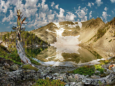 Photograph - Upper Skytop Lake by Leland D Howard