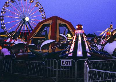 Photograph - Upper South Carolina State Fair 3 by Rodney Lee Williams