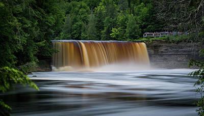 Photograph - Upper Tahquamenon Falls by James Howe
