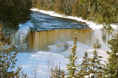 Michigan Photograph - Upper Tahquamenon Falls by Michael Peychich