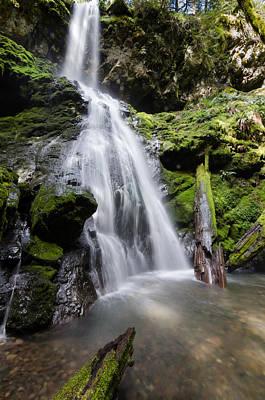 Photograph - Upper Trestle Creek Falls by Margaret Pitcher
