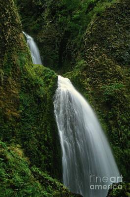 Photograph - Upper Wahkeena Falls by Rick Bures