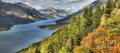 Photograph - Upper Waterton Lake Valley by Adam Jewell