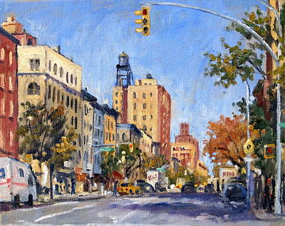 Painting -  Upper West Side Afternoon Light Nyc by Thor Wickstrom