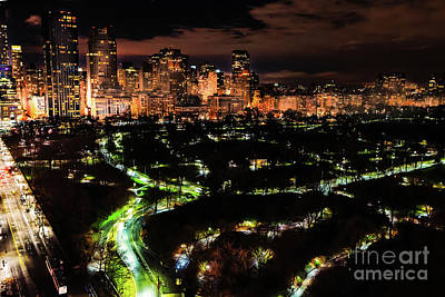 Photograph - Upper West Side At Night by M G Whittingham