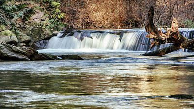 Photograph - Upper Whatcom Falls by Tony Locke