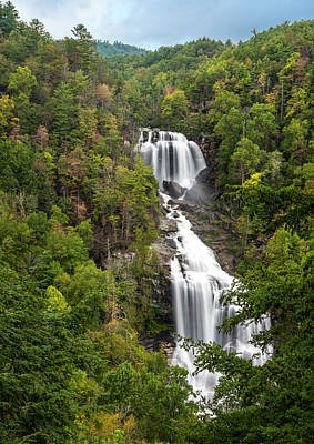 Photograph - Upper Whitewater Falls by David Morefield