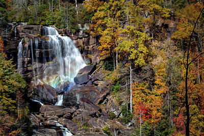 Photograph - Upper Whitewater Falls by Rob Travis