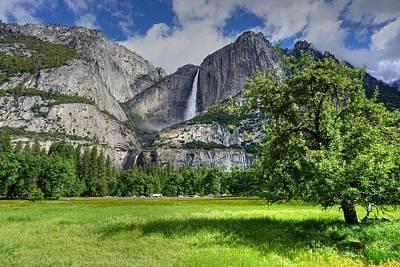 Yosemite Photograph - Upper Yosemite Falls by Cyndi Combs